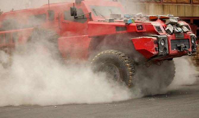 MARAUDER - Самый прочный и сверхпроходимый автомобиль в мире