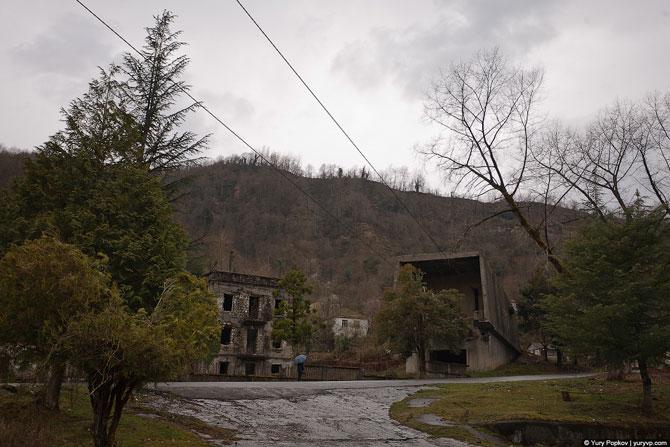 Абхазский Сайлент Хилл в стиле S.T.A.L.K.E.R.